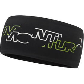 Montura Step Light Headband nero/verde